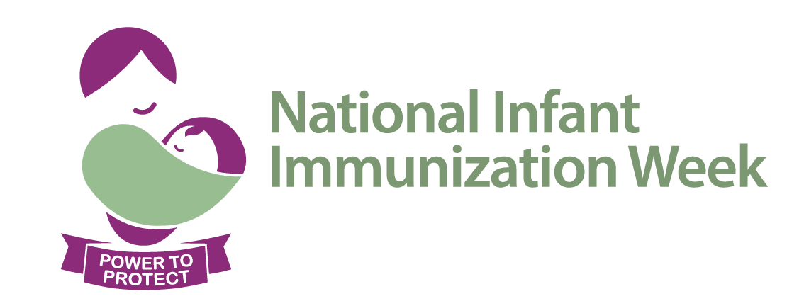 National Infant Immunization Week logo